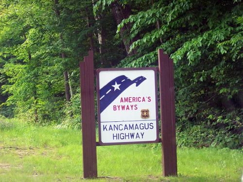 Kancamagus Highway Sign: America's Byways