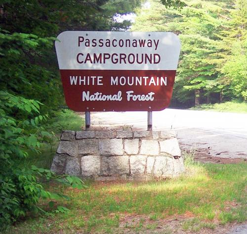 Passaconaway Campground on the Kancamagus Highway