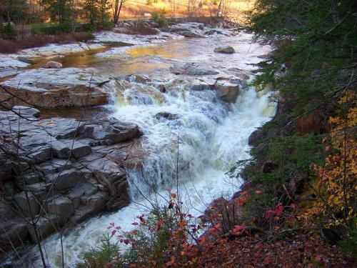 Rocky Gorge Scenic Area on the Kancamagus