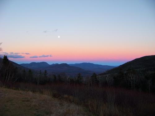 Sunset on the Kancamagus Highway