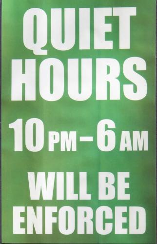 Quiet Hours at Blackberry Crossing