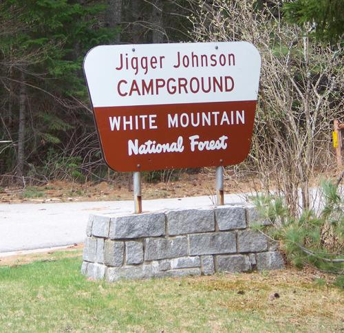 Jigger Johnson Campground on the Kancamagus Highway