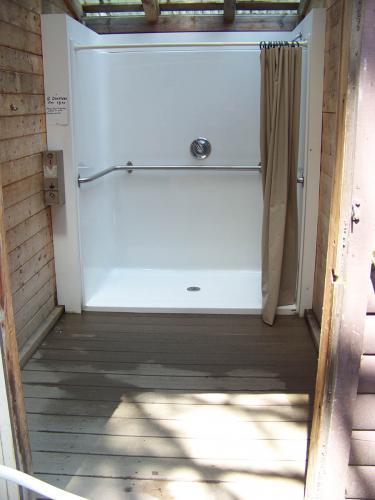 Jigger Johnson Campground showers