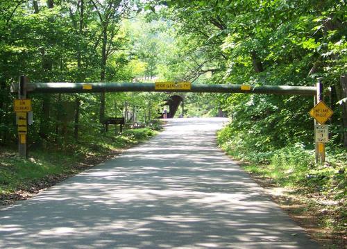 Covered Bridge Campground: Bridge Height