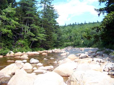 Swift River NH Along the Kancamagus Scenic Byway